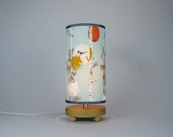 Bird Collage Table Lamp