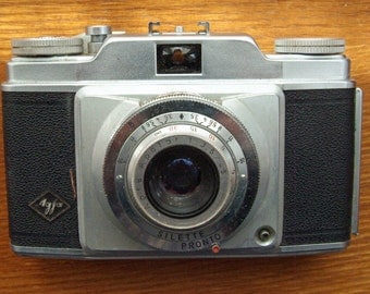 Agfa Silette 35mm Camera with Case