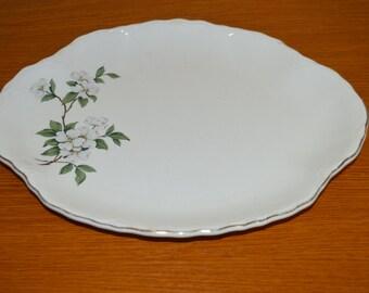 Homer Laughlin Dogwood Platter