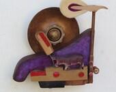 Piano Hammer Landscape - Hippo - Scott Rolfe