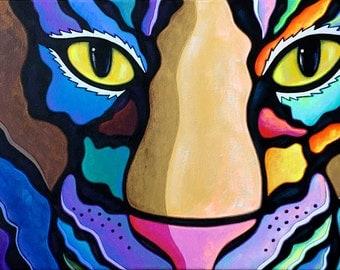 Look into my Tiger Eyes...