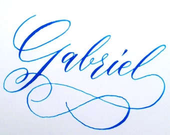 Calligraphy name video