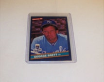 Vintage 1986 Donruss George Brett Card