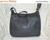 HOLD   Summer Blow Out Coach~Coach Saddle Bag~Black Coach Bag ~Fits Ipad Perfectly
