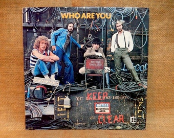 The Who - Who Are You - 1978 Vintage Vinyl Record Album