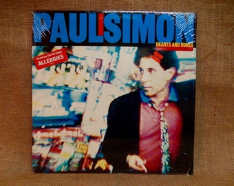 PAUL SIMON - Heart and Bones - 1983 Vintage Viny Record Album