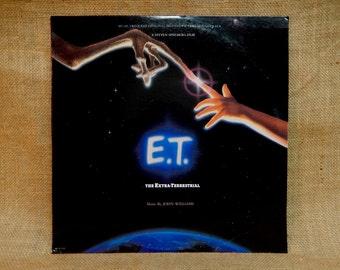 E. T. - Original Motion Picture Soundtrack - 1982 Vintage Vinyl Record Album