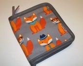 """Single Set case for tips 3 1/2"""" to 4 1/2"""" in Foxy"""