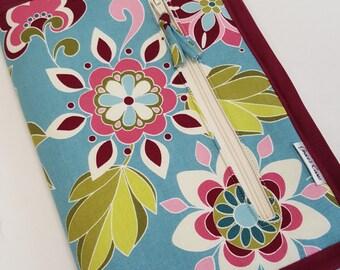 DPN or Crochet Hook Case in Magenta Floral II