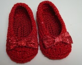 Wizard of Oz Ruby Slippers INFANT to ADULT