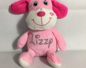 Personalized PINK PUPPY Stuffie