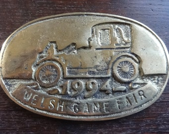 Vintage Welsh Game Fair 1994 Steam Traction Engine Tractor Vintage Vehicle Rally / English Shop