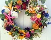 Beach Decoration/Beachy Wreath