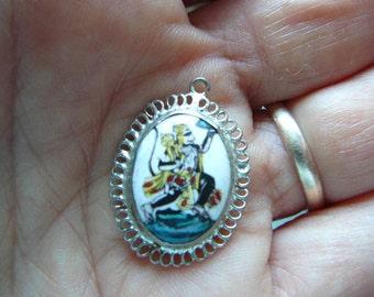Hanuman charm pendant devotional jewellery vedic wear hindu god