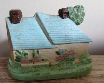 Irish Countryside Cottage Cast Iron Door Stop