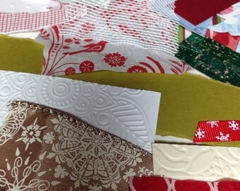 Mixed Media Materials, Handmade Card Supplies, Collage Ephemera, Art Journal, Decoupage, Card Making Supplies, Art supplies,