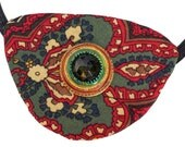 Eye Patch Regal Jewel Pirate Victorian Steampunk Gothic Fantasy Fortune Teller