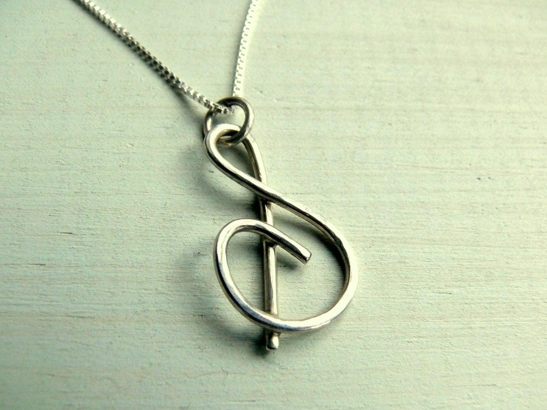 silver letter s initial necklace cursive name pendant