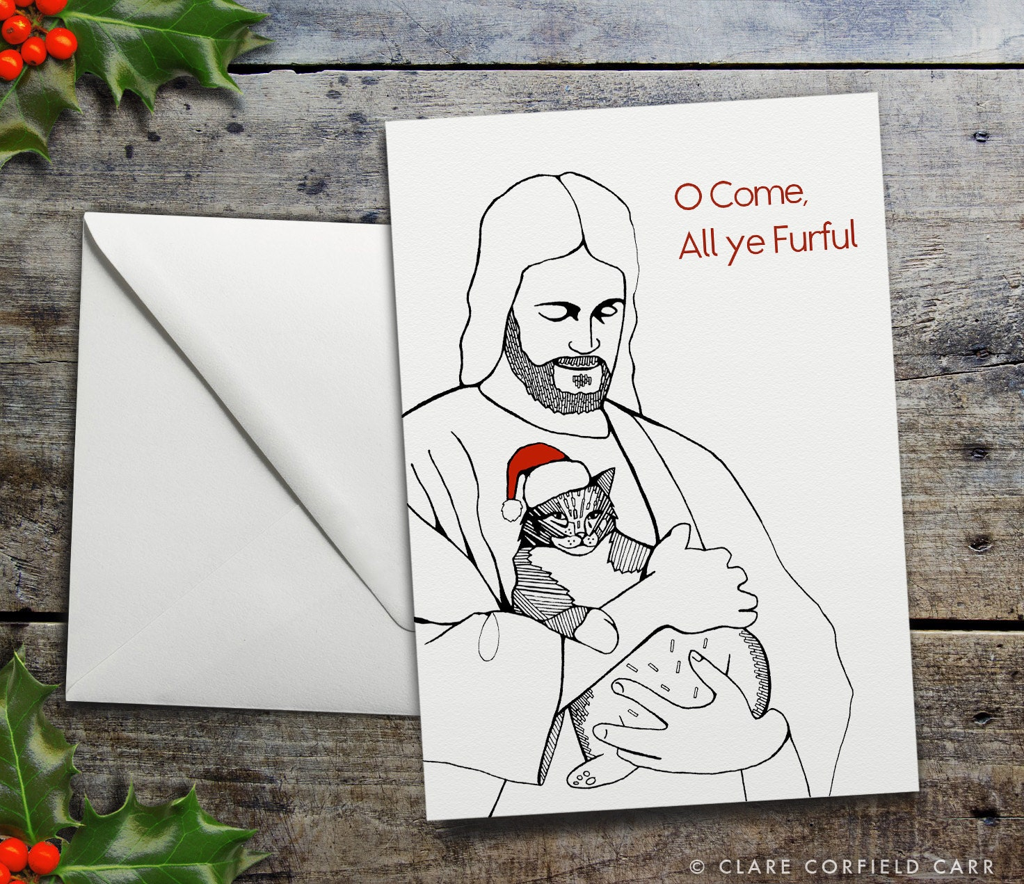 Snap Bill Murray Christmas Card Pun by TheCardArchitect on Etsy ...