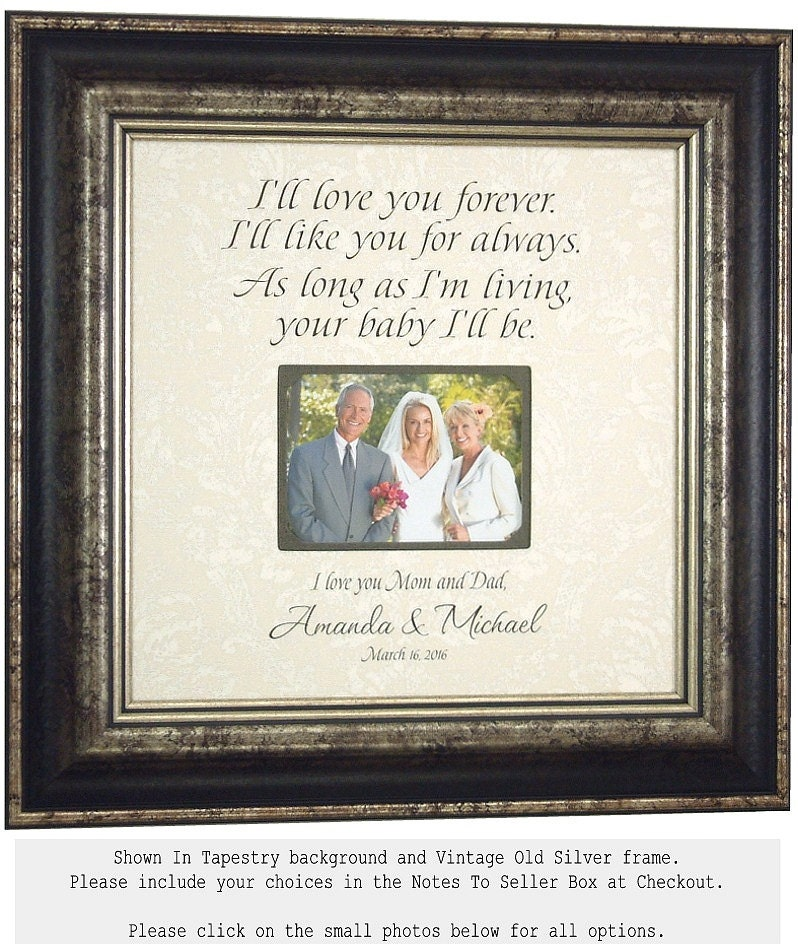 Wedding Gifts For Grooms Parents: Wedding Gift For Parents Bride Groom Mother By