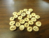 Cypress rune set - Elder Futhark - FREE DOMESTIC SHIPPING - small