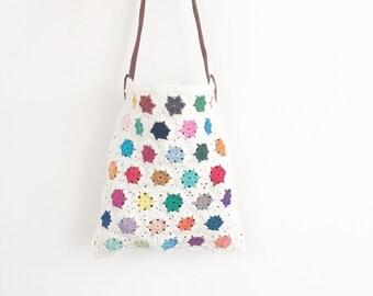 Crochet Hexagon Bag - PDF crochet pattern
