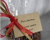 Custom listing for Elisa Calderon - 150 spiced apple pine cone fire starters