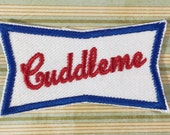 NAME PATCH - Custom Retro Style Tilted Name