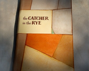 Salinger the Catcher in the Rye Leather bound artistic bound collectors item