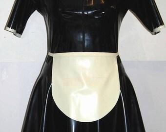 Latex Maid Dress with Apron