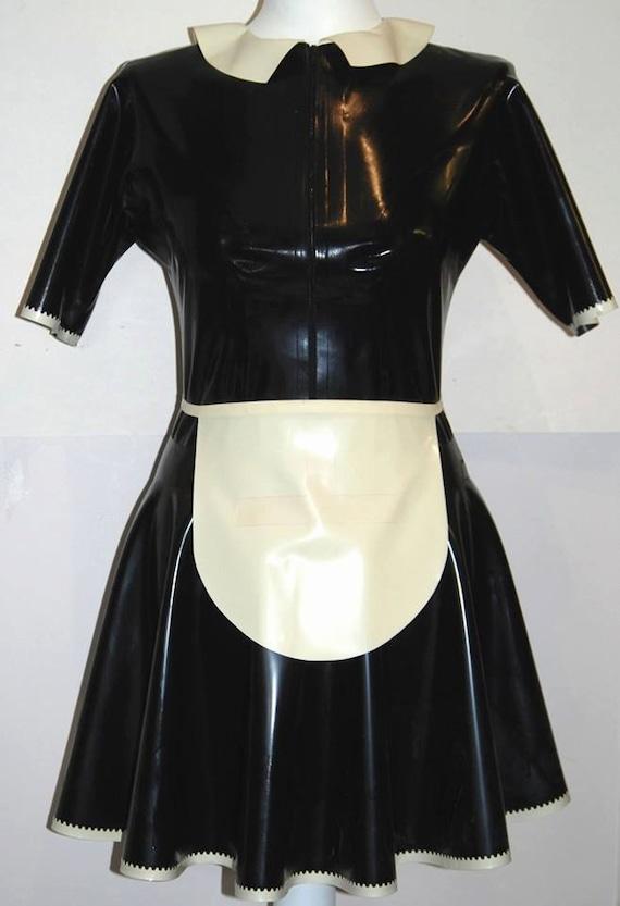 Latex Maids Dress 116