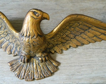 Vintage Decorative Metal Eagle.