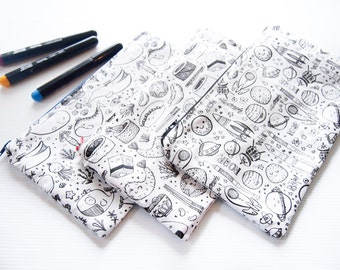 Color-It-In Pencil Case (Pens and Pencils)