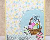 Easter Cards- Happy Easter- Easter Basket- Easter Eggs
