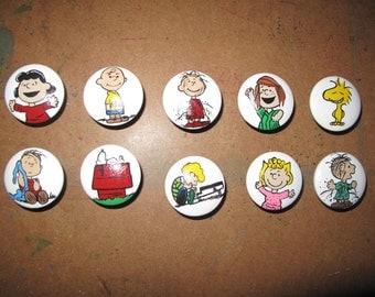 Peanuts dresser knobs