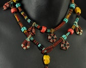 "The ""Tibetan Inspired Beaded Rope Necklace"" Beading Kit"