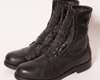 RENTAL 5/24 - GEORGIA Hawk Combat Boots Men's Size 8. 5 E
