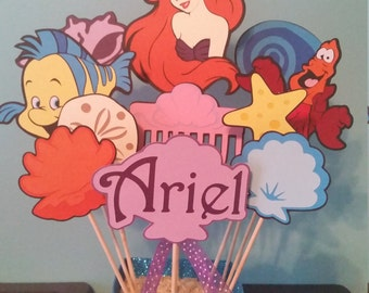 Ariel *Little Mermaid* table centerpiece