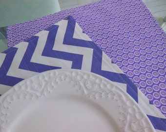Placemats -  Customize Your Own Pillowscape Reversible Placemats - You Select The Fabrics To Coordinate With Your Home Decor