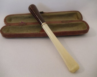 Antique  Cased Cigarette Holder