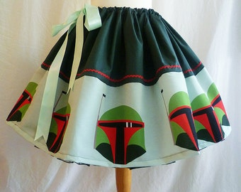 Bounty Hunter Full Skirt, Fandom Clothing By Rooby Lane