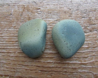 SLAG STONE Cabinet Knob Slag Glass Beach Glass Cabinet Knobs Sea Glass Drawer Pulls