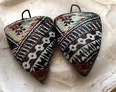 Polynesian Tapa Cloth Shield Decal Droppers#6