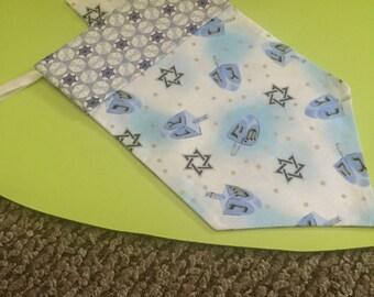 15 inch dreidel for Hanukkah,  holiday bag, dove, menorah, Star of David