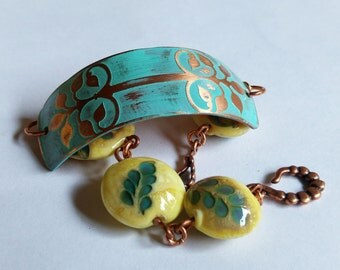 Marine Blue Bracelet with Beads