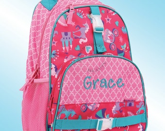 Backpack - Personalized and Embroidered - All Over Print Backpack - PRINCESS