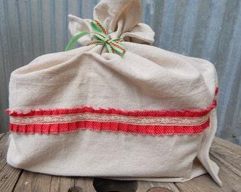 Reusable Christmas Bag, Large Christmas Bag