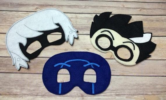 Bedtime Villain Masks