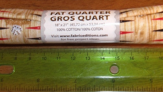 "One Roll Fabric Palette 100% Cotton 18"" X 21"" Fat Quarter ..."