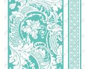 "Anna Griffin Embossing Folders 2 pc Set ANACANTHUS Botanical 5"" x 7"" & Border Folder NEW Cuttlebug cricut provo craft Mixed Lot sizzix"